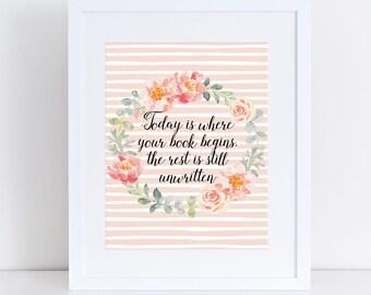 Steve martin quote poster print inspirational be so good inspirational quote poster print the hills rose pink flowers song lyrics mightylinksfo