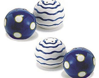 Two Pairs Mini Salt & Pepper Shakers by Berryware