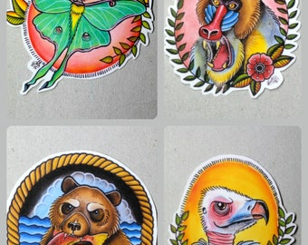 Tattoo Design Stickers