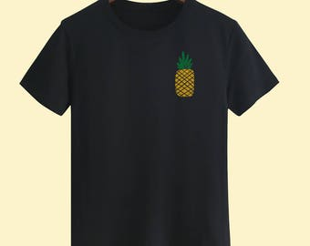 Golden Pineapple Unisex T shirt,T Shirts For Men,T Shirts For Women,T Shirt For Youth,Street T-shirts Hipster T Shirt, gift T-shirts
