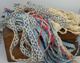 Vintage Crochet Trim and Fringe   Handmade