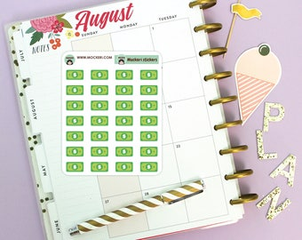 28 Money Mini Stickers / Planner Stickers