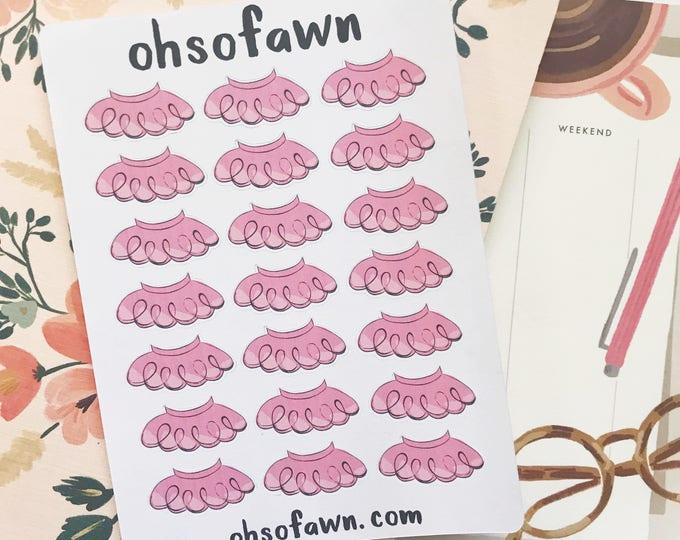 Hand Drawn Tutu Stickers