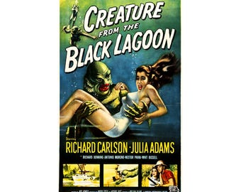 Creature From The Black Lagoon Movie Poster Many Sizes Available