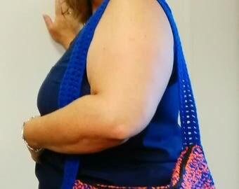 Crocheted gator purse