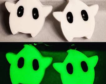 Luma Earrings - Star Earrings - Glow In The Dark Earrings - Gamer Earrings - Mario Earrings