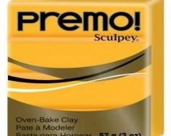 Clay PREMO Sculpey yellow Cadmium 57g