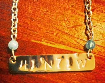 Newport coordinates necklace