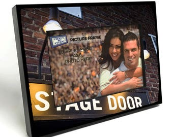 Theater Stage Door Entrance 4x6 inch Table Top Picture Frame