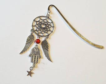 Dreamcatcher bookmark: Fatma hand