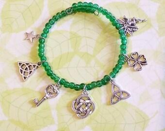 Bracelet: Irish luck