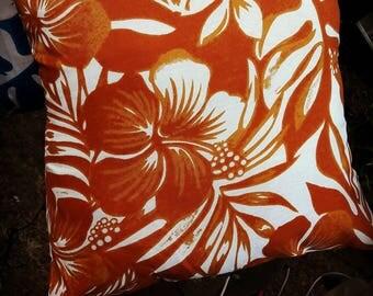 Cushion cover Hawaiian Tropical Hawaiian handmade Hand Made pillow 40 x 40