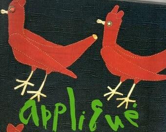 Japanese Book - Ayako Miyawaki's applique works for 50 years