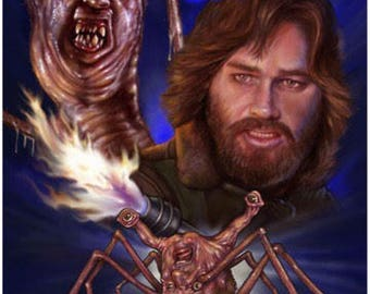 The Thing 1982 Cult Movie - A3 Print