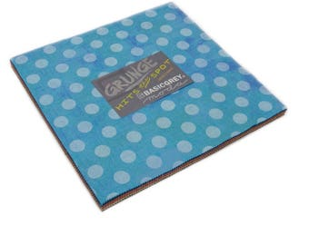 Layer Cake Grunge Hits the Spot by Basic Grey- 42 Fabrics New Colors