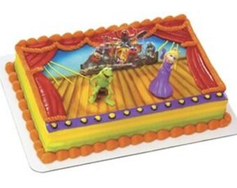 Muppets Cake Decorating Kit, Kermit Cake, Miss Piggy Cake