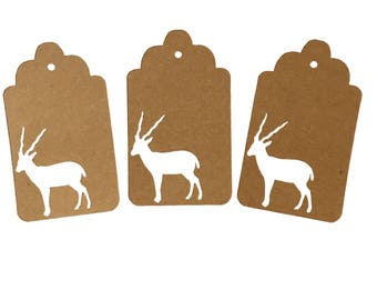 Gazelle Gift Tags