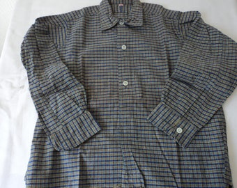 French vintage boy's western style shirt size 28 (05401-02-03)
