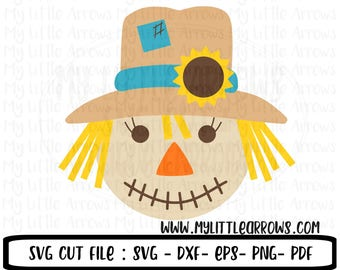 SALE- Scarecrow SVG | girl scarecrow svg | halloween svg | SVG | thanksgiving svg | Fall Svg | Digital Download | clip art | commercial use