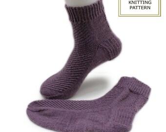 Knitting pattern - Loevli socks