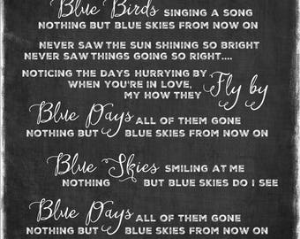 Blue Skies - Willie Nelson