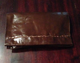Tobacco leather interior fabrics