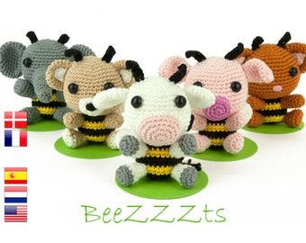 Crochet pattern BeeZZZts