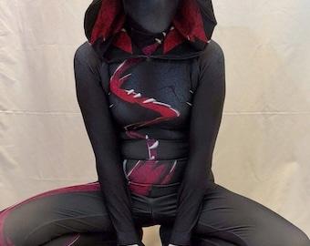 New Gwenom Dye-sub Pattern 3D Printing Costume