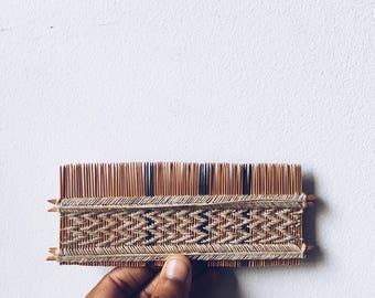 Vintage Handmade Woven Comb
