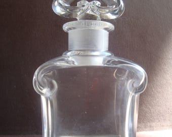 Vintage Guerlain Baccarat Perfume Bottle