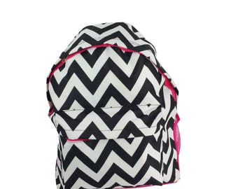 back to school: April Fashion chevron backpack
