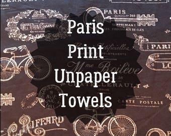 Paris Print Unpaper Towels
