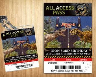 Jurassic Park Access Pass!