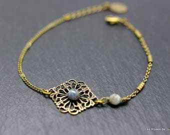 lace bracelet labradorite