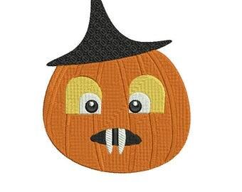MR Pumpkin AND box Halloween Digital Embroidery Design, Halloween box Embroidery, Halloween Pumpkin box Embroidery for 5x7 2 DESIGNS