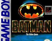 Game Boy Batman The Video Game  Repo Box and Insert NO Game Included