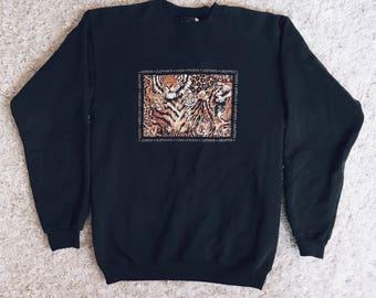 90's Animal Kingdom Sweater