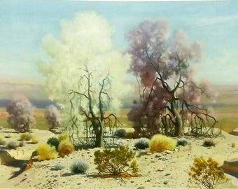 James Swinnerton Blooming Desert Original Lithograph