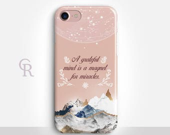 Inspirational iPhone X Case For iPhone 8 iPhone 8 Plus - iPhone X - iPhone 7 Plus - iPhone 6 - iPhone 6S - iPhone SE - Samsung S8 - iPhone 5
