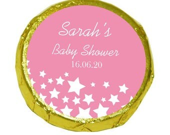 50 Personalised Baby Shower Mint Crisps