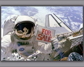 Poster, Many Sizes Available; Satellite And Space Shuttle For Sale