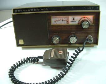 Johnson messenger 250 radio station solid state