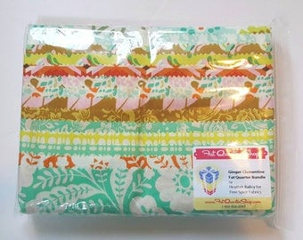 14 Fat Quarter Bundle Clementine by Heather Bailey for Free Spirit, Ginger Colorway