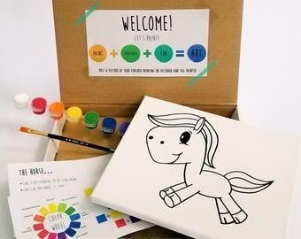 Horse Paint Kit