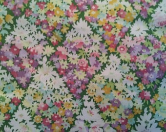Thomas Kinkade Flowers Upholstery Fabric