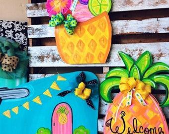Pineapple door hangers!