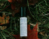 DIRTY HIPPIE~A straight up Patchouli Blend. 100% Organic Indian+Indonesian Patchouli in Coconut oil & Hemp Seed Oil