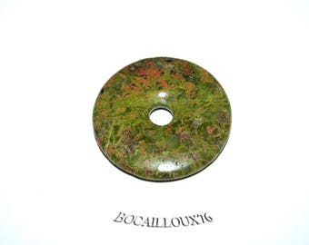 Pi UNAKITE pendant 8 d. 30 - stone of PROTECTION - for CREATION