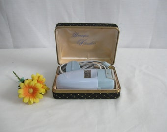 60's Remington Duchess Electric Razor Shaver in Case Works Well Has Cord Complete Vintage Shaver Free Shipping See Details