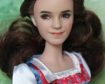 1/6 OOAK Disney Beauty and the Beast Emma Watson doll Custom repaint by I'mDolls